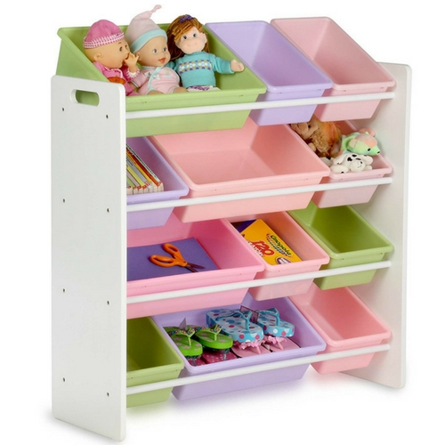 Honey-Can-Do Toy Organizer and Storage Bins