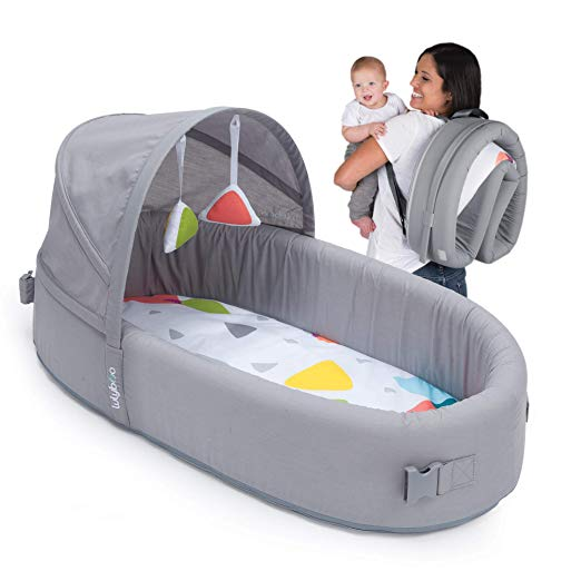 Baby Nest Bed Portable Infant Crib Newborn Toddler Travel Bed On Car Safety Fold